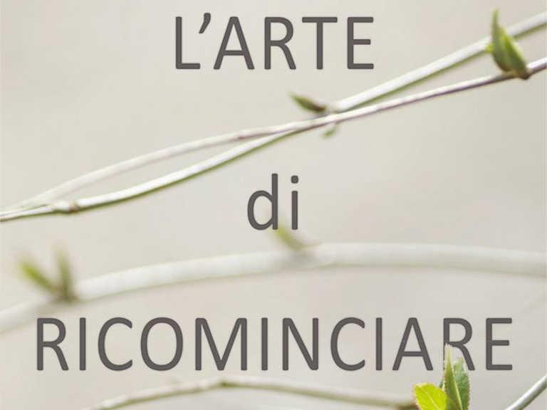 """Copertina dei libro di don Fabio Rosini """"L'arte di ricominciare"""""""
