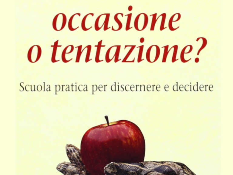 Occasione o tentazione. Libro di Silvano Fausti, copertina