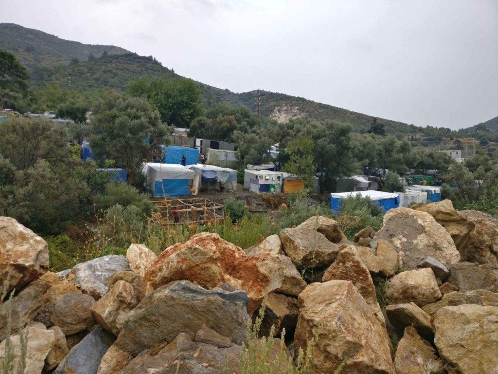 Campo di Vathy, isola di Samos