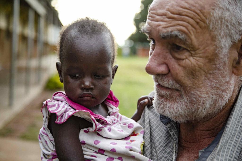 Elio Croce, missionario comboniano in Uganda