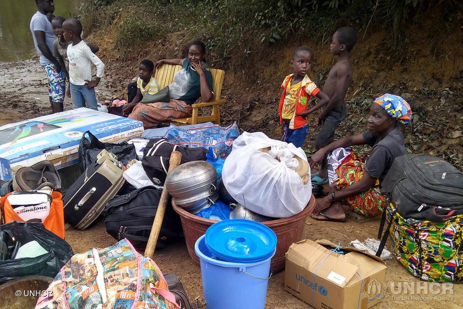 Liberia. Gli ivoriani fuggono nei paesi vicini temendo la violenza post-elettorale © UNHCR