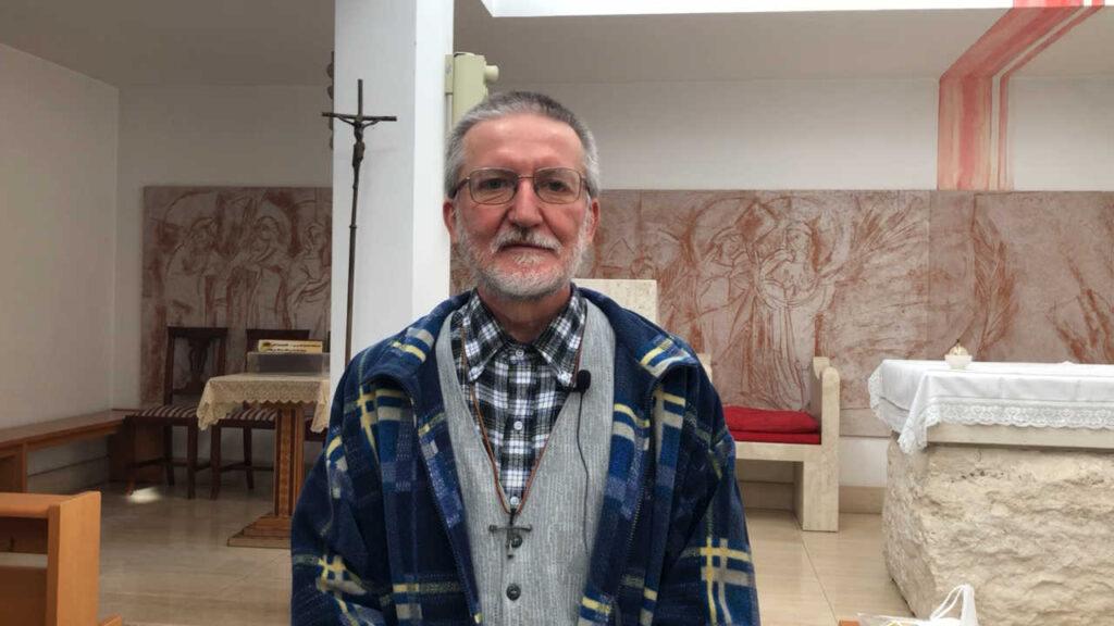 Padre Pierluigi Maccalli Chiesa dei Santi Martiri di Selva Candida (Roma)