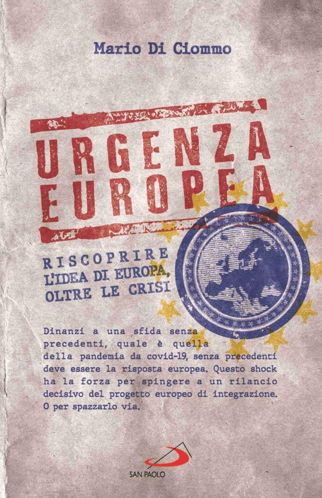 Copertina libro Mario Di Ciommo Urgenza europea