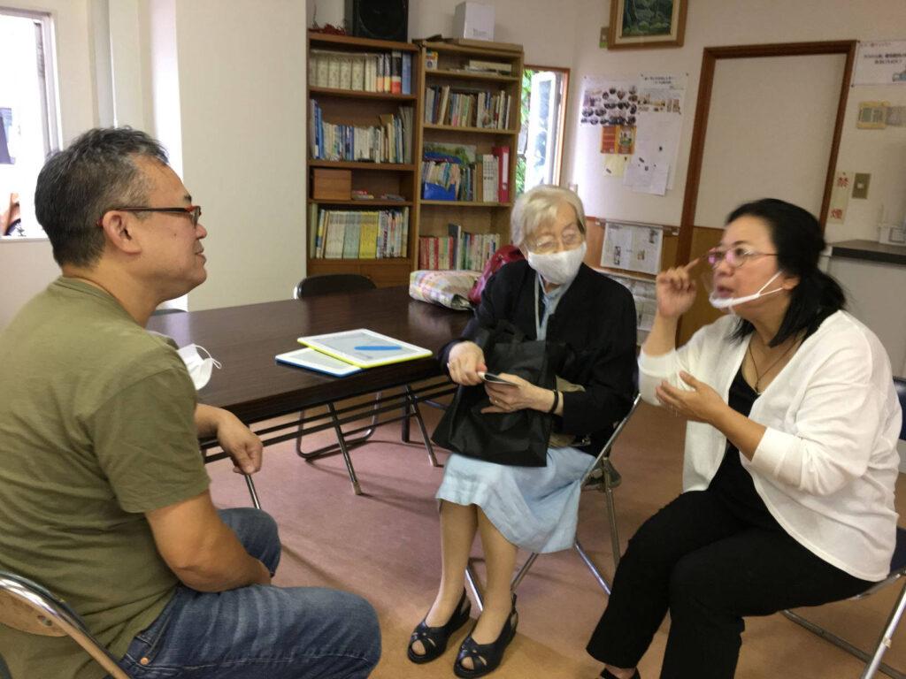 sostegno al cammino verso il battesimo di Moriuchi