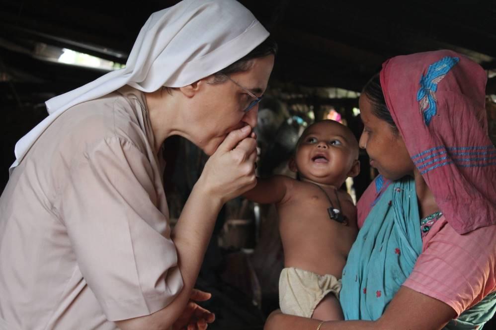 sr Roberta Pignone, missionaria dell'Immacolata in Bangladesh