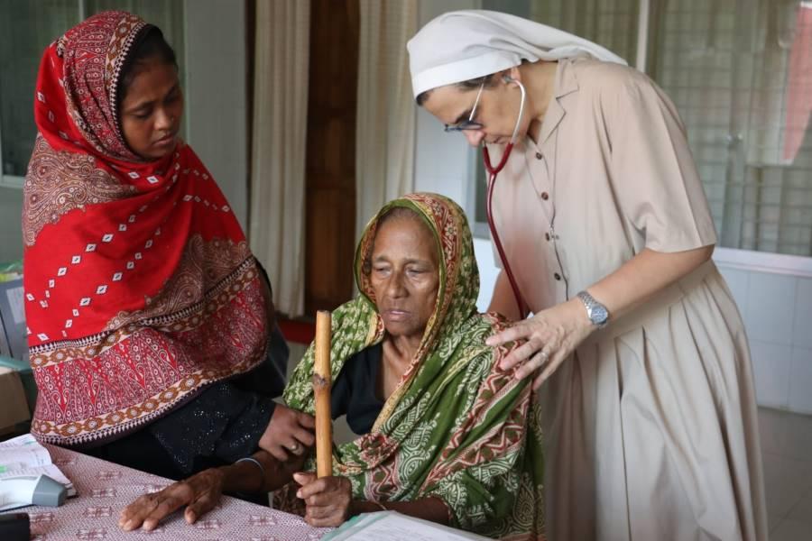 sr Roberta Pignone missione di Khulma in Bangladesh