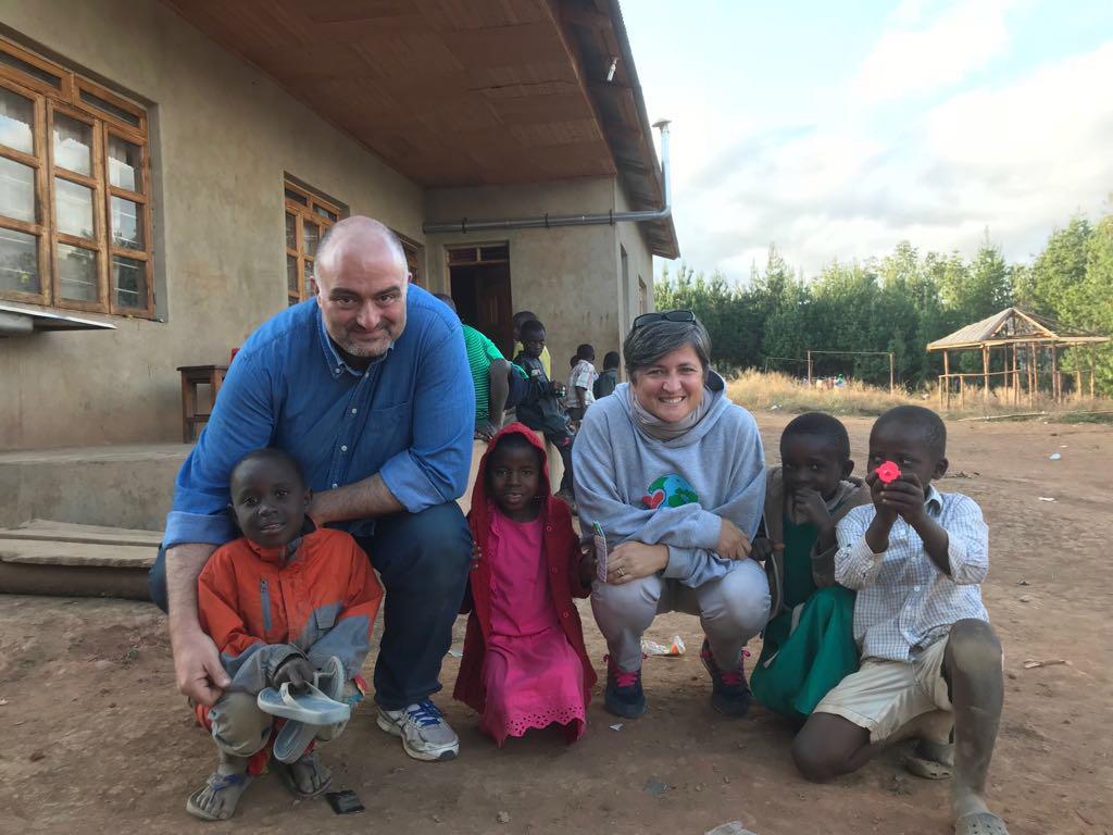 Federico e Francesca, missionari laici in Tanzania