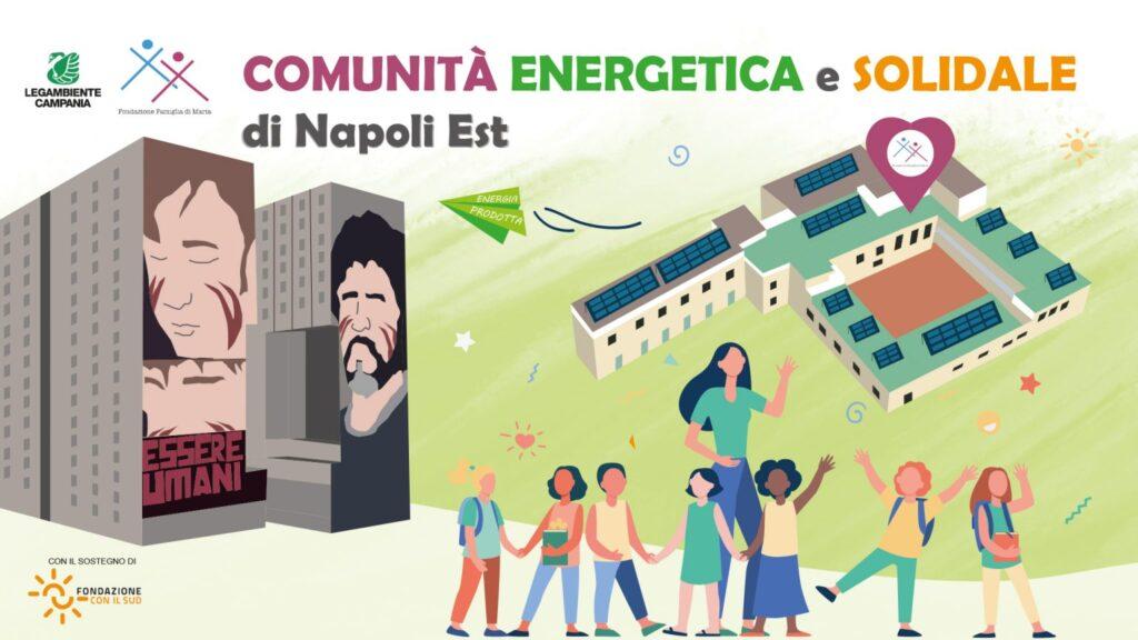 Progetto della prima comunità energetica a San Giovanni a Teduccio, Napoli
