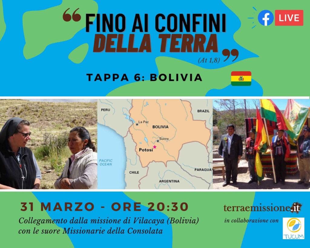 Rubrica missionaria streaming dalla Bolivia
