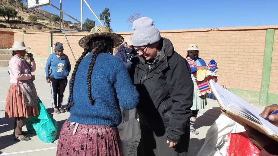 missionarie della Consolata in Bolivia