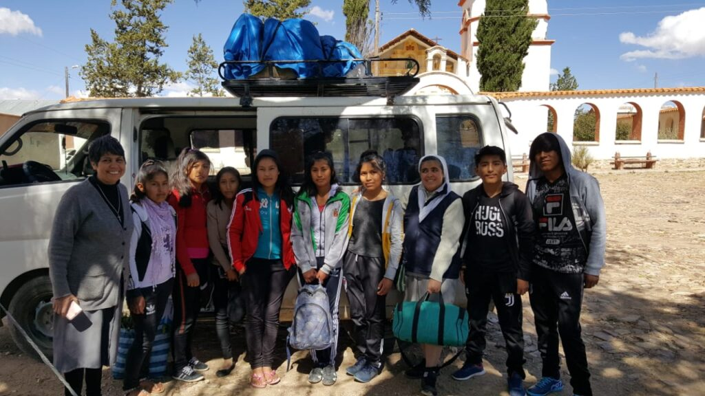 progetto studentesse in Bolivia