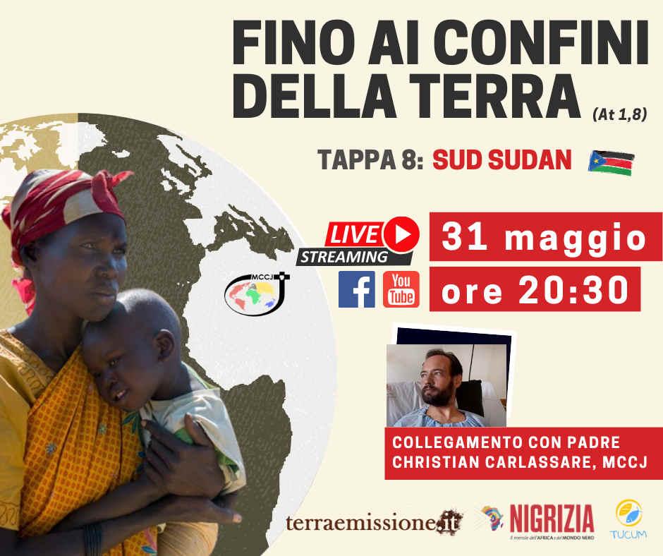 copertina evento missionari Comboniani in Sud Sudan