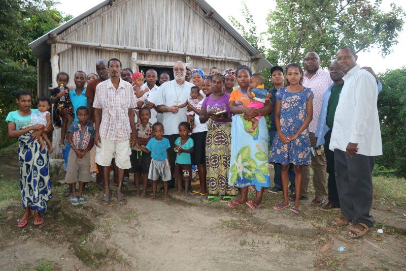 Missionari della Consolata nella missione in Madagascar