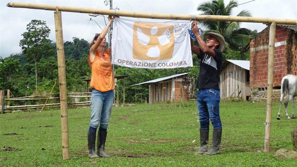 Volontari di Operazione Colomba