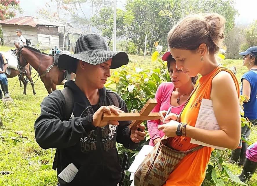 Silvia De Munari, volontaria di operazione colomba
