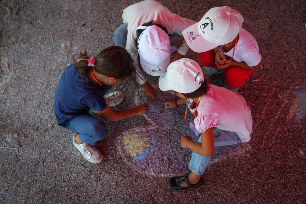 missione a Lesbo con i bambini